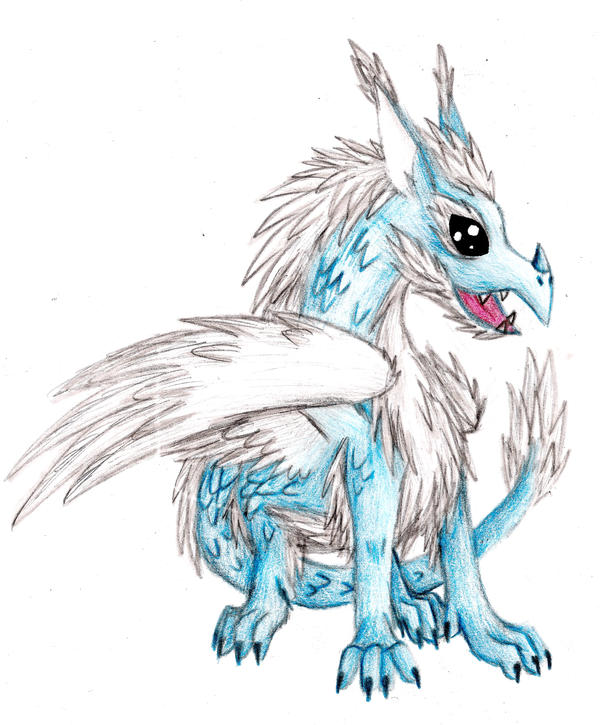 Ice Dragon Drawing Ice Dragon 2 by