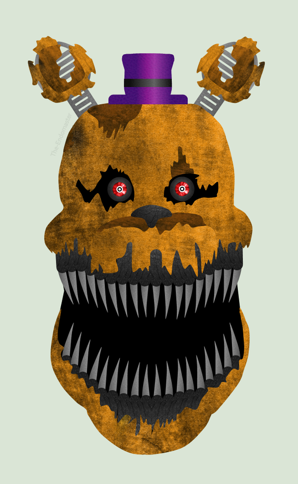 Nightmare fredbear by the endomaster on deviantart
