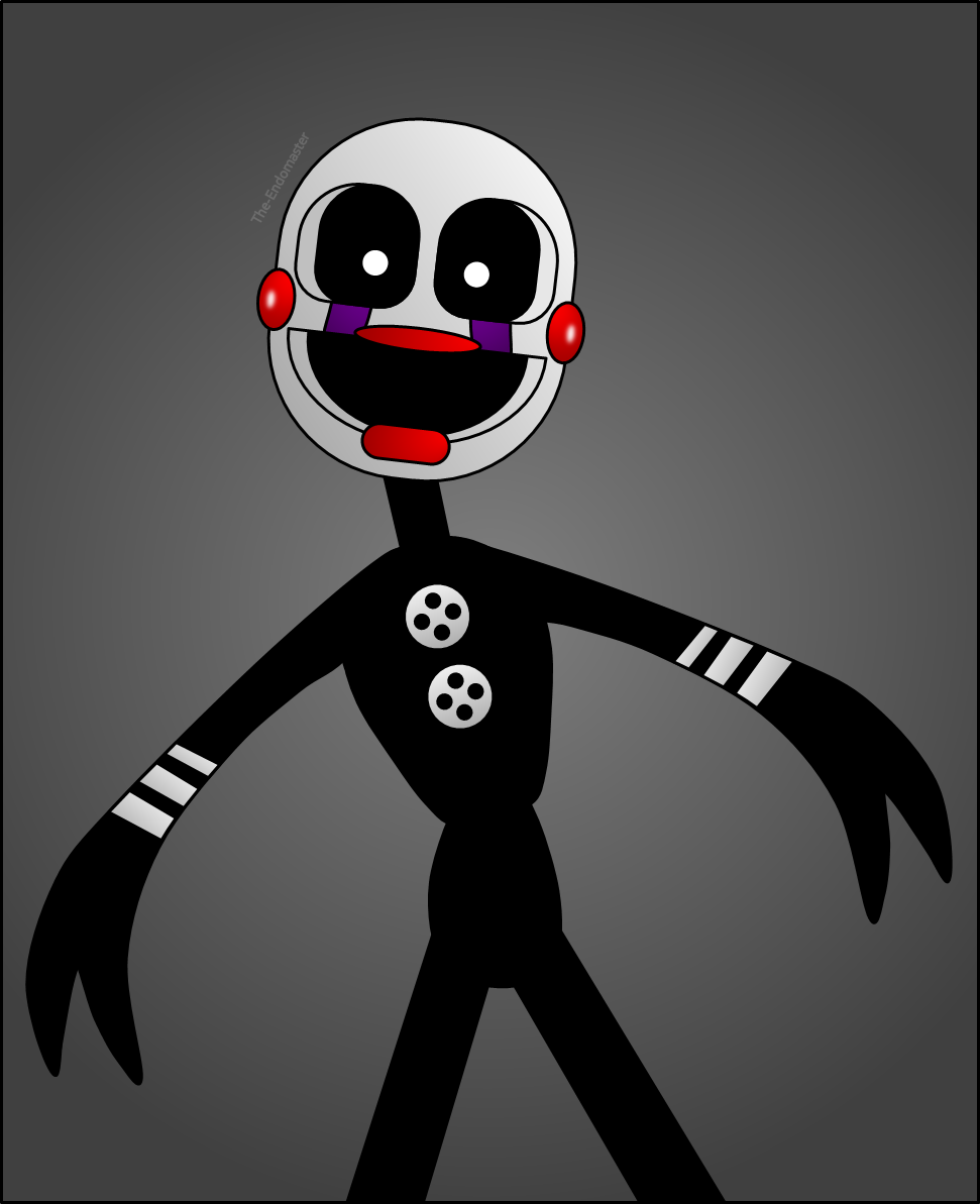 Adventure puppet by the endomaster on deviantart
