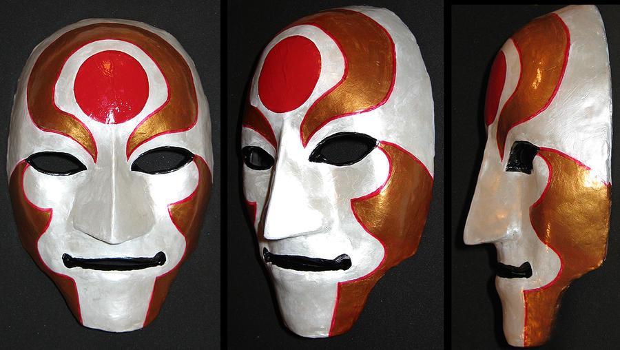Amon Mask (Legend of Korra Cosplay) by kunibob