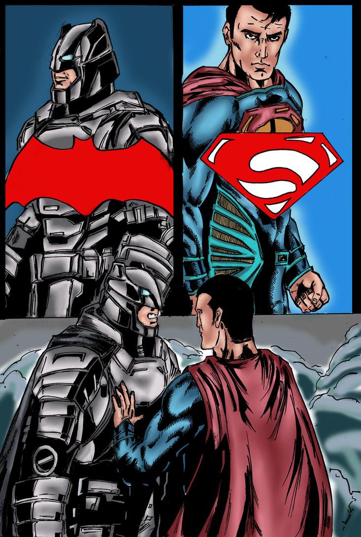 Batman vs Superman Fanart by TuananhCong
