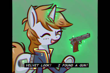 Rare 1980s footage of Fallout Equestria by ProvolonePone