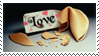 Fortune Cookie Love stamp by Strange-little-cat