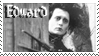 Edward Scissorhands stamp by Strange-little-cat