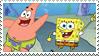 Spongebob and Patrick stamp by Strange-little-cat