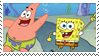 Spongebob and Patrick stamp by Strange-little-cat
