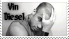 Vin Diesel stamp by Strange-little-cat
