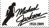 R.I.P Michael Jackson stamp