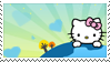 Hello Kitty stamp No1 by Strange-little-cat