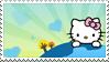 Hello Kitty stamp No1 by Strange-little-cat