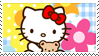 Hello Kitty stamp No2 by Strange-little-cat