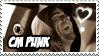 CM Punk stamp for Jen :D by Strange-little-cat