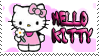 Hello Kitty stamp No6 by Strange-little-cat