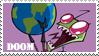 Doom stamp