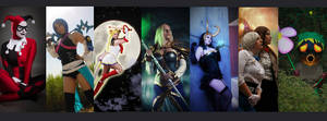 My cosplays so far.. well almost all ^^