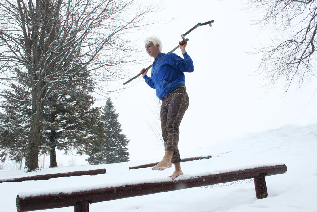 Jack Frost - Rise of the Guardians by Marieeve15