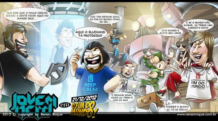 Jovem Nerd em 21/12/2012: O Fim Do Mundo by RoqueRenan