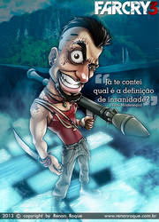 Vaas Montenegro (FarCry 3) by RoqueRenan