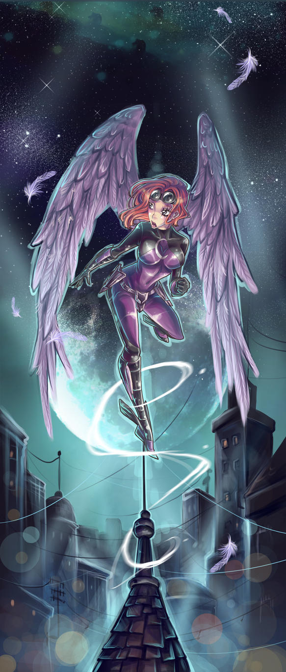 Perched Twi by Avionetica by Indystruck