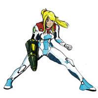 Samus Metroid Dread Zero Suit