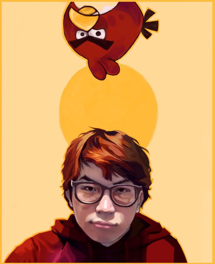Angrybird look-a-like by Eruhaha