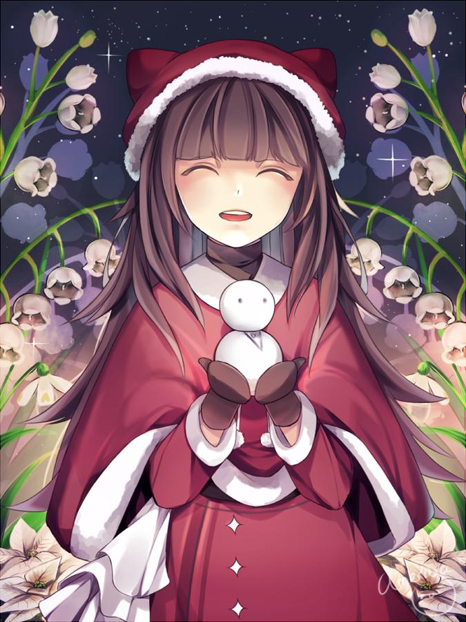Merry Christmas Anime.Speedpaint Merry Christmas By Ameriya On Deviantart