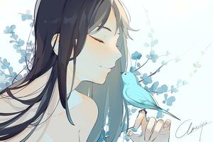 Blue Bird by ameriya