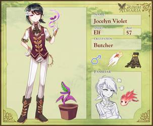GA: Jocelyn Violet by rukuluc