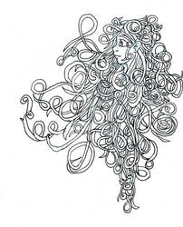 twirl of curls