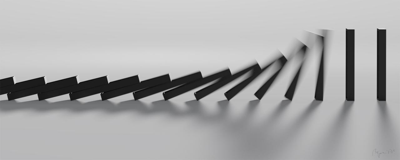 Domino by beyczy