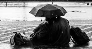 Under the Umbrella by beyczy