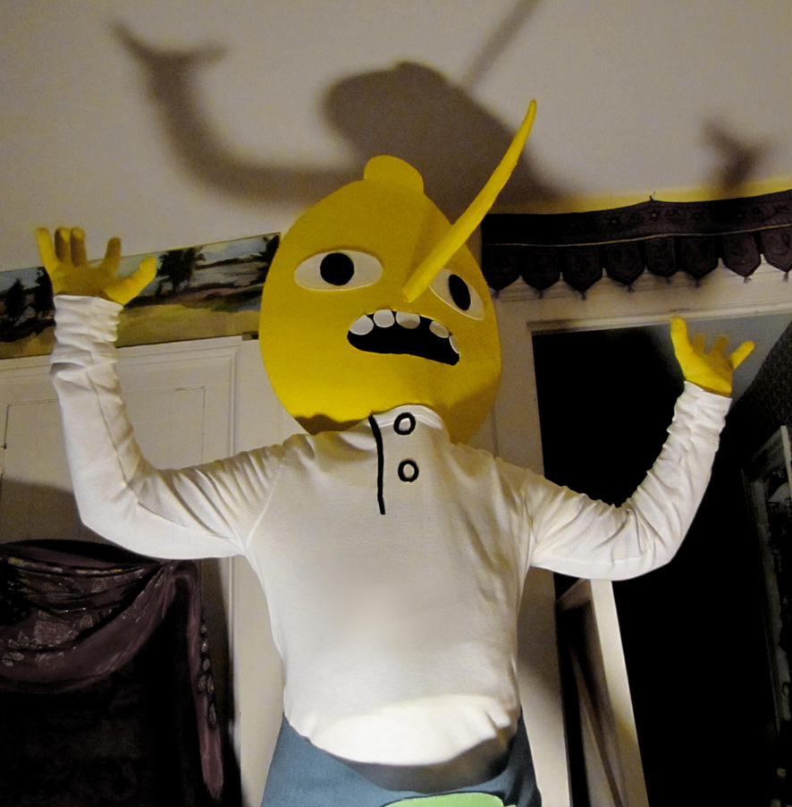 Lemongrab 2 Cosplay Picture 1 by TheEarlofLemongrab