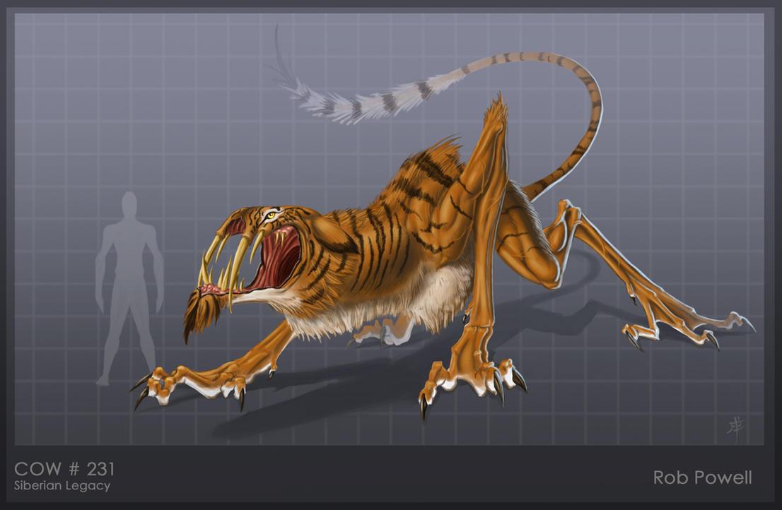 Specimen 47 Stalker-Hybrid by rob-powell