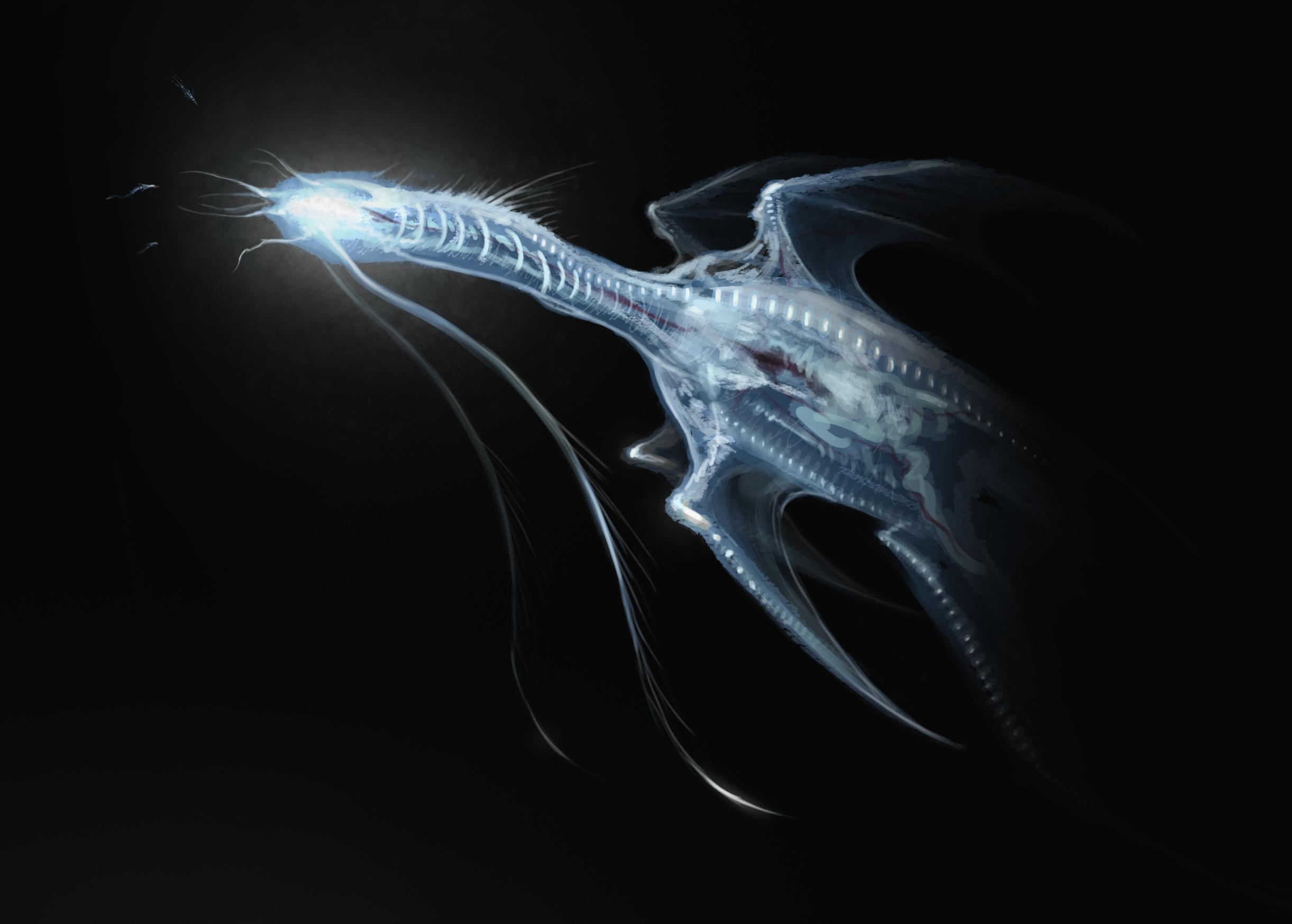 Dracolestia xengola by rpowell77