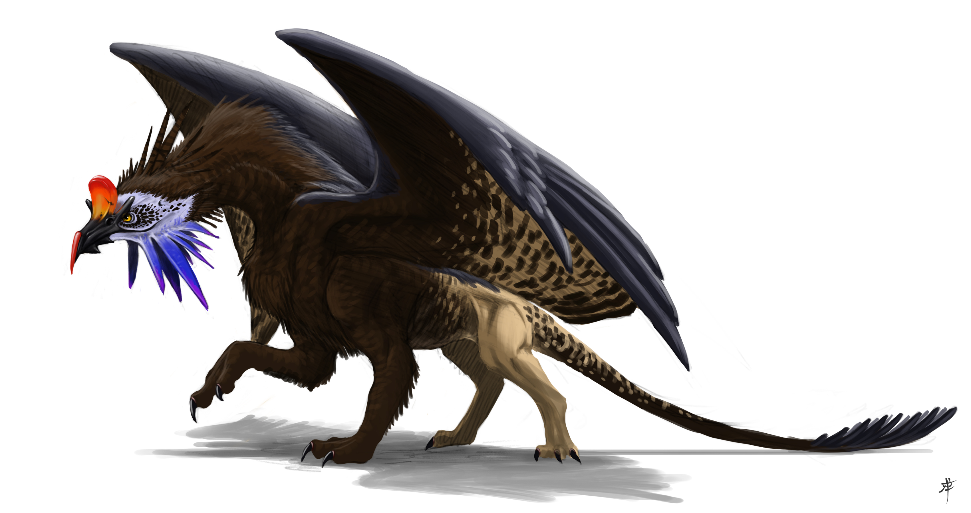 Griffin by rob powell on deviantart for The griffin