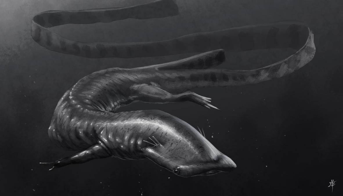 Salamandasaurus speedie by rpowell77