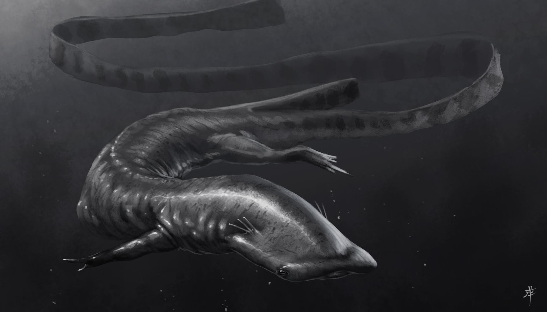 Salamandasaurus speedie by rob-powell