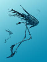 Underwater Runner by rob-powell
