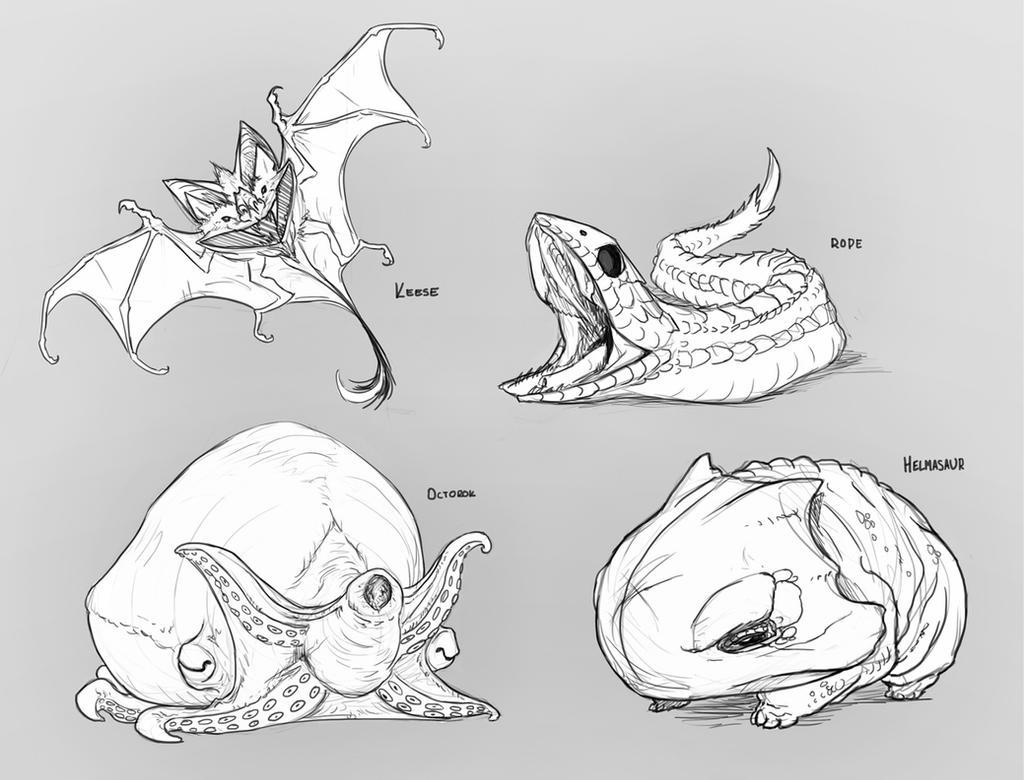 Zelda Enemies - small by rob-powell