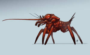Fencing Bug by rob-powell