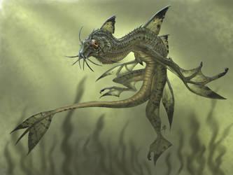 Corydoras Water Dragon by rob-powell