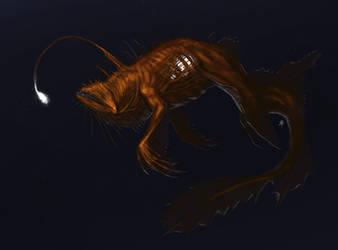 Anglerfish Mermaid by rob-powell