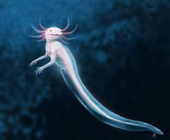 Axolotl Mermaid