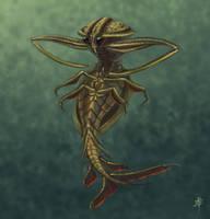 Giant Water Bug Mermaid