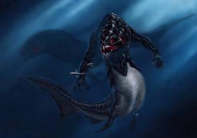 Dunkleosteus Mermaid