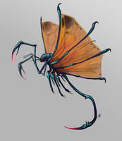 Flying Scorpion creature