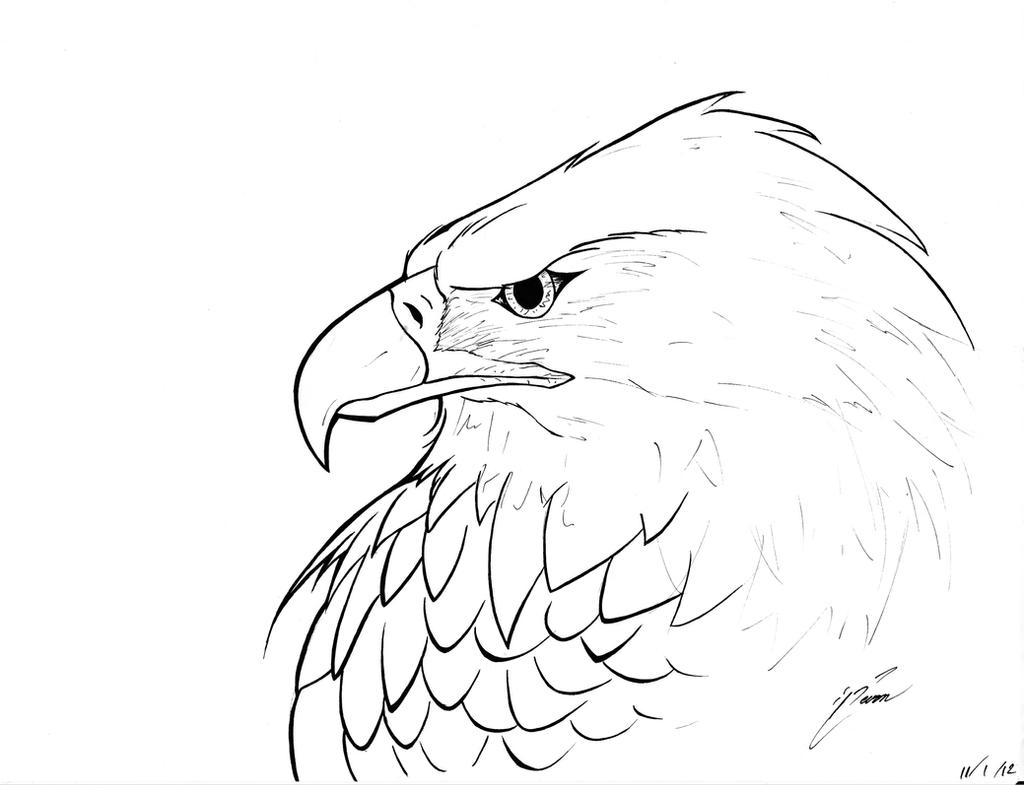 eagle coloring pages easy - photo #21