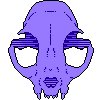 f2u cat skull icon by worthless-parasite