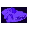 wolf skull f2u by worthless-parasite