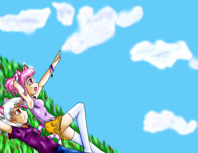 Dec 8 - Watching The Clouds by Crysums